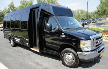 Jacksonville 40 Person Shuttle Bus